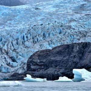 Floating Icebergs at Mendenhall Glacier near Juneau, Alaska - Encircle Photos