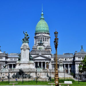 Palace of Argentine Congress in Balvanera, Buenos Aires, Argentina - Encircle Photos