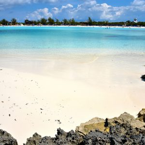 Pristine White Beach at Half Moon Cay, The Bahamas - Encircle Photos