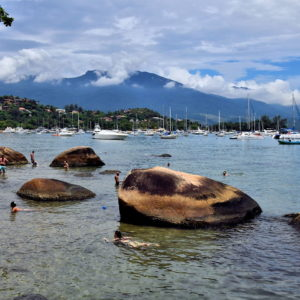 Boardwalk View in Ilhabela, Brazil - Encircle Photos