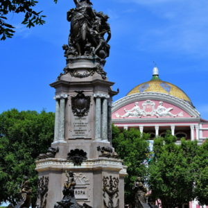 Opening of the Ports Monument in Manaus, Brazil - Encircle Photos