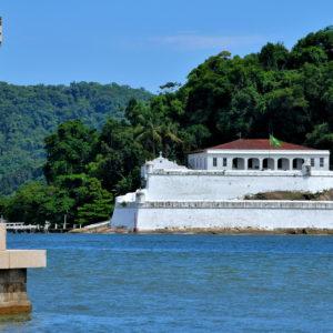 Fortress of Santo Amaro of Barra Grande in Santos, Brazil - Encircle Photos