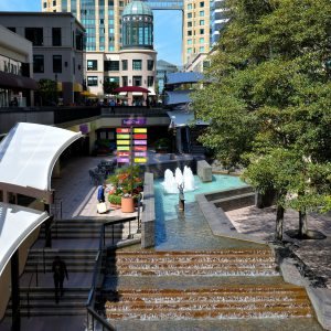 City Center and Ronald V. Dellums Towers in Oakland, California - Encircle Photos