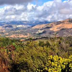 Scenery along Stagecoach Road North of Santa Barbara, California - Encircle Photos