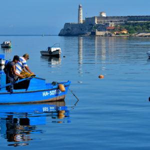 Wooden Fishing Boats in Havana, Cuba - Encircle Photos