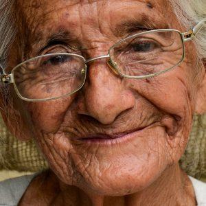 Old Ecuadorian Woman in El Chorrillo, Ecuador - Encircle Photos