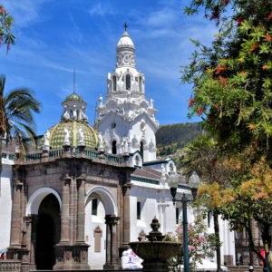 Cathedral of Quito at Plaza Grande in Quito, Ecuador - Encircle Photos