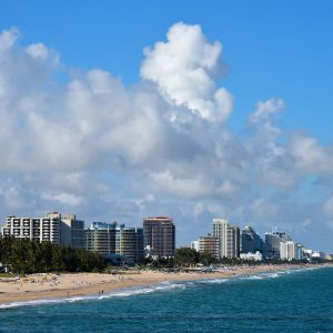 Skyline of Fort Lauderdale Beach, Florida - Encircle Photos