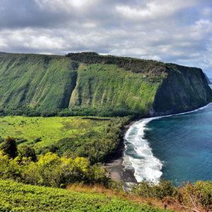 Lookout over Waipi'o Valley near Honokaa, Island of Hawaii, Hawaii - Encircle Photos
