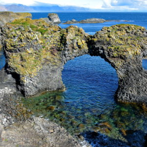 Gatklettur Arch Rock at Arnarstapi on Snæfellsnes Peninsula, Iceland - Encircle Photos
