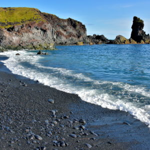 Black Lava Pearl Beach at Djúpalónssandur on Snæfellsnes Peninsula, Iceland - Encircle Photos