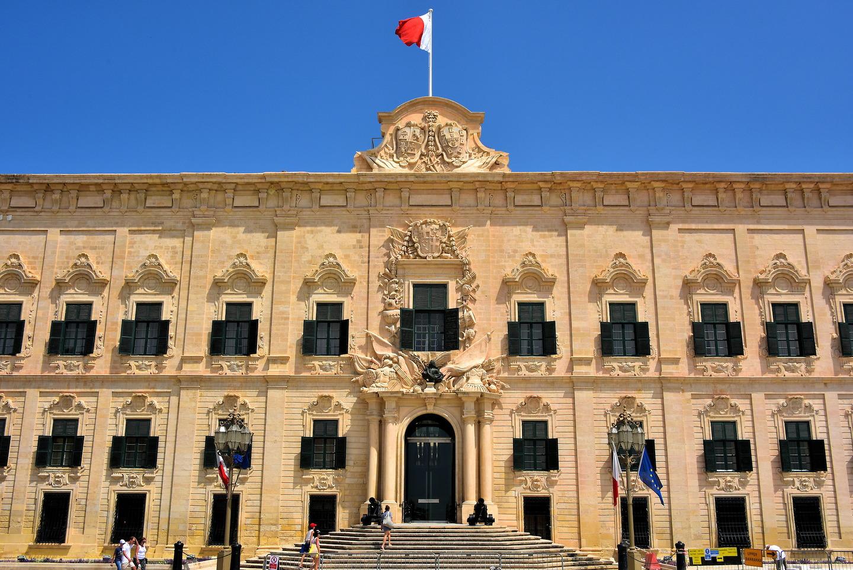 Auberge de Castille in Valletta, Malta - Encircle Photos