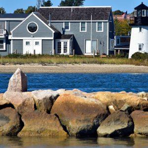 Hyannis Harbor Lighthouse at Barnstable on Cape Cod, Massachusetts - Encircle Photos