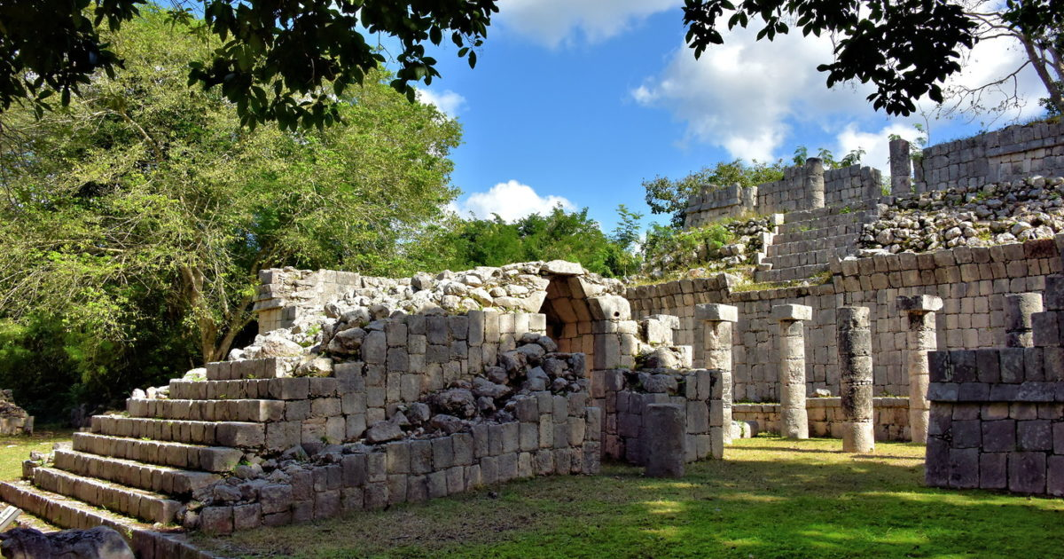 Temple Wall Panels : Temple of the wall panels at chichen itza mexico