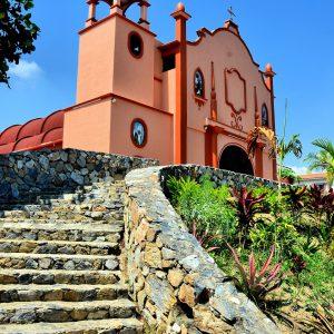 La Parroquia de Nuestra Señora de Guadalupe Church in La Crucecita, Mexico - Encircle Photos