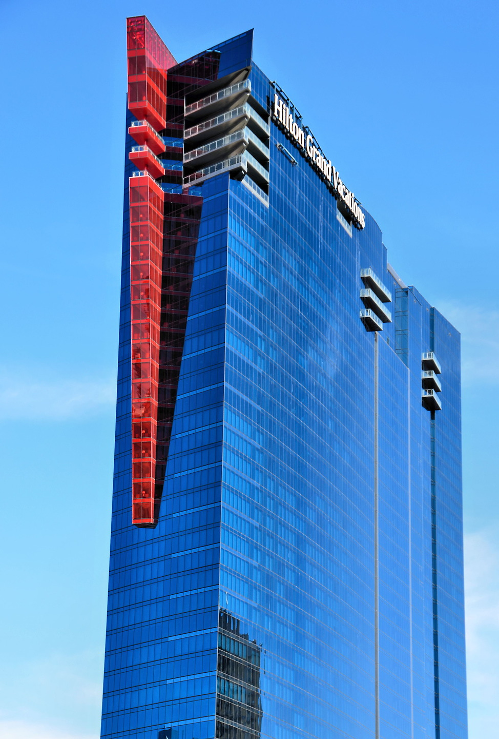 Elara Hilton Grand Vacations Building In Las Vegas Nevada Encircle Photos