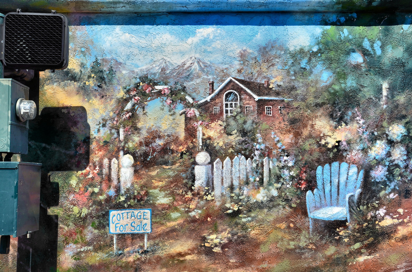 cottage for sale mural in grants pass oregon encircle photos