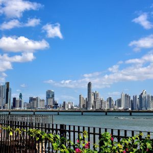 Cityscape of Urban Center in Panama City, Panama - Encircle Photos