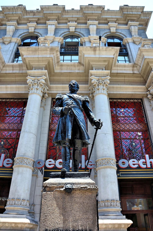 Ramon Castilla Statue in Lima, Peru