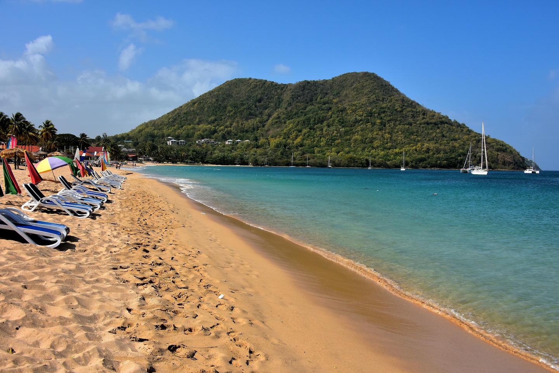 Reduit Beach At Rodney Bay Village