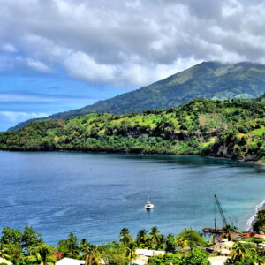Chateaubelair Bay in Chateaubelair, Saint Vincent - Encircle Photos