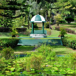 Gazebo at Botanical Gardens in Kingstown, Saint Vincent - Encircle Photos
