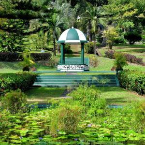 Gazebo at Botanical Gardens in Kingstown, Saint Vincent - Encircle Photos