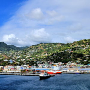 Sailing into Kingstown, Saint Vincent - Encircle Photos