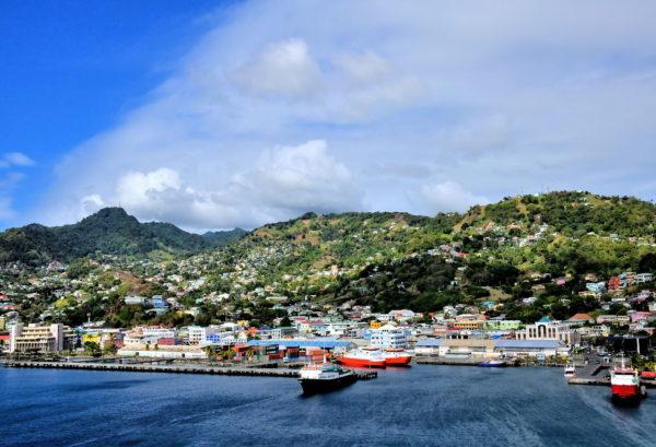 Sailing into Kingstown, Saint Vincent - Encircle Photos