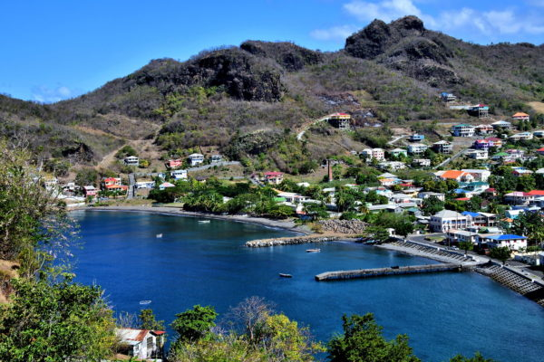 Layou Bay in Layou, Saint Vincent - Encircle Photos