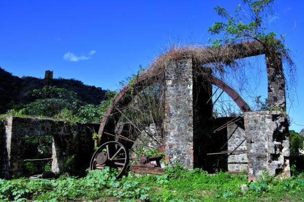 Old Sugarcane Mill in Pembroke, Saint Vincent - Encircle Photos