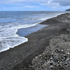 Black Sand Beach in Richmond, Saint Vincent - Encircle Photos