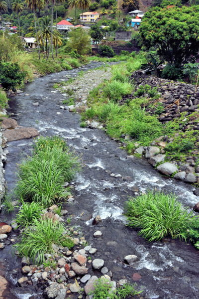 Cumberland River in Spring Village, Saint Vincent - Encircle Photos