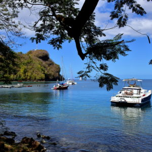 Wallilabou Bay in Wallilabou, Saint Vincent - Encircle Photos