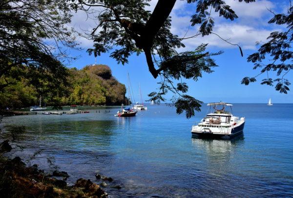 Wallilabou Bay in Wallilabou, Saint Vincent - Encircle Photos