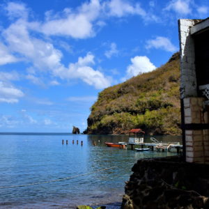 Stone Arch at Wallilabou Bay in Wallilabou, Saint Vincent - Encircle Photos