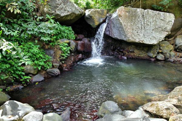 Waterfall at Wallilabou Heritage Park in Wallilabou, Saint Vincent - Encircle Photos